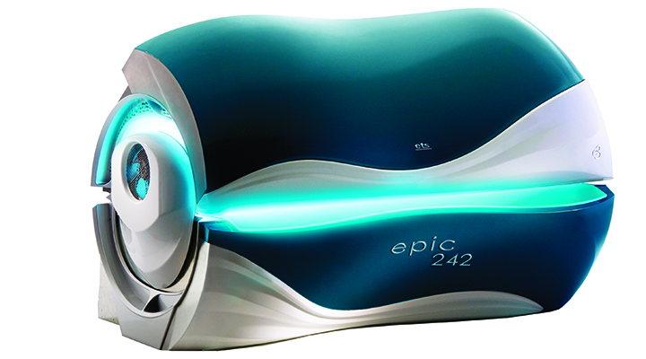 Epic 242 tanning bed