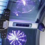 luxura x 10 tanning bed facial lamps detail