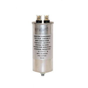 75 UF TANNING BED CAPACITOR WITH STUD
