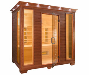 therasauna infrared sauna for four persons